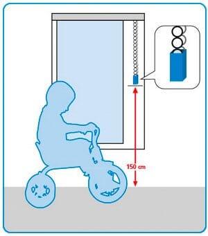 Kindersicherheit Kettenbedienung