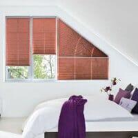 Perfekte Ausstattung für Plissee Dreiecksfenster und andere Sonderformen