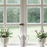 Fenster ohne Dämmschutz