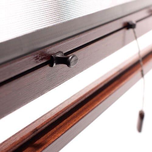 Insektenschutz-Rollo für Fenster - Bedienung