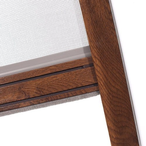 Insektenschutz-Rollo für Fenster – Staubleiste