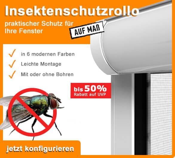 Insektenschutzrollo - perfekter Schutz vor Mücken & Co.