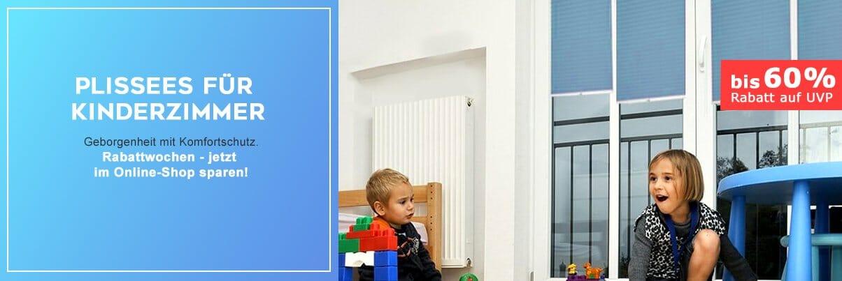 Plissee Kinderzimmer