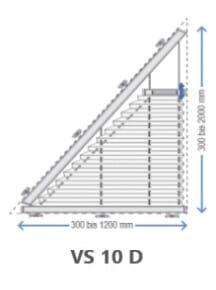 Plisseetyp VS10 D