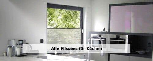 Küche Plissees