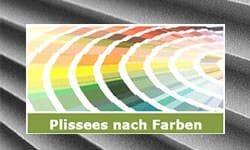 Plissees nach Farben