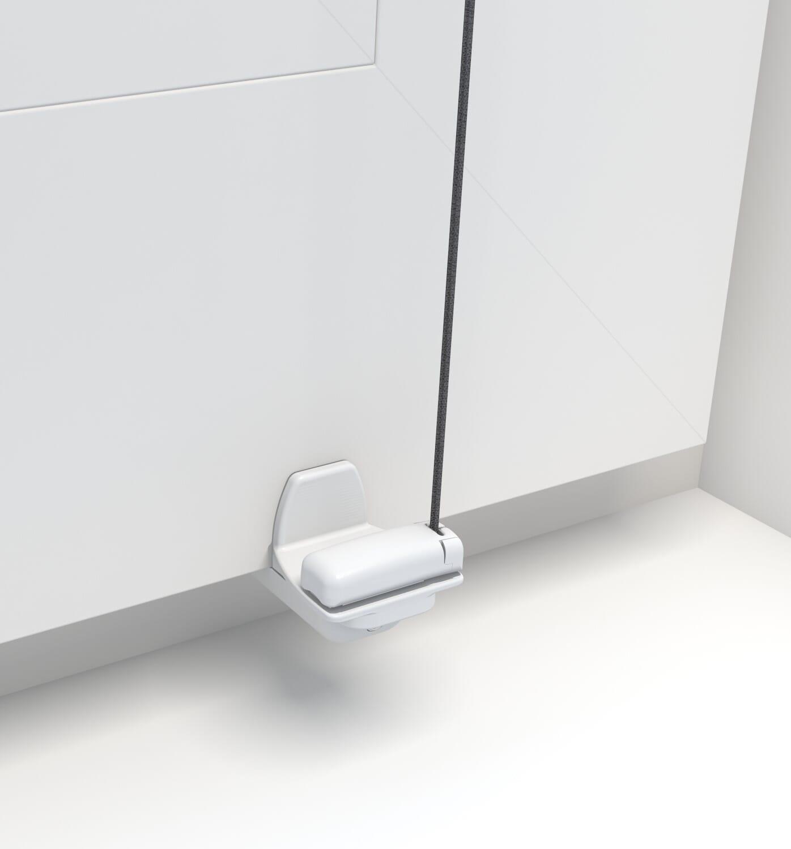 Ein Klemmfix-Plissee für die Montage am Fensterflügel