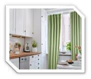 Vorhänge Küche