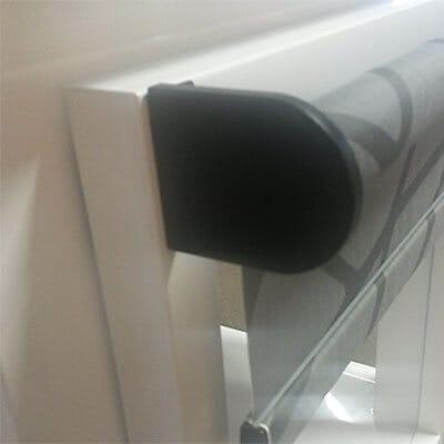 Montage am Fensterflügel - verschraubt