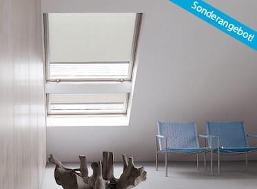 Dachfensterrollos in Standardmaßen für Fenster von Velux