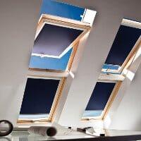 Dachfenster Rollo mit Sonderfunktionen