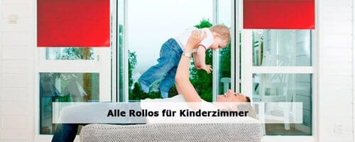 Kinderzimmer Rollos