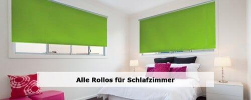 Schlafzimmer Rollos