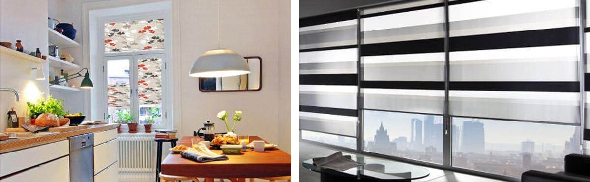 Sichtschutz Fenster: Plissees & Rollos